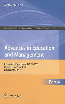 Advances in Education and Management By Zhou, Mark (EDT)